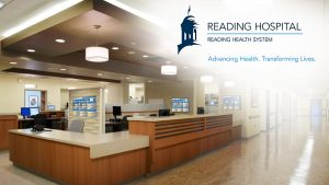 Reading hospital, Reading health System, Advancing Health. Transforming Lives.