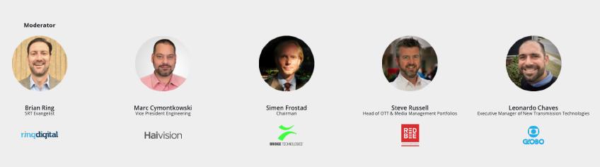 SRT Open Source Technical Panel Panelists