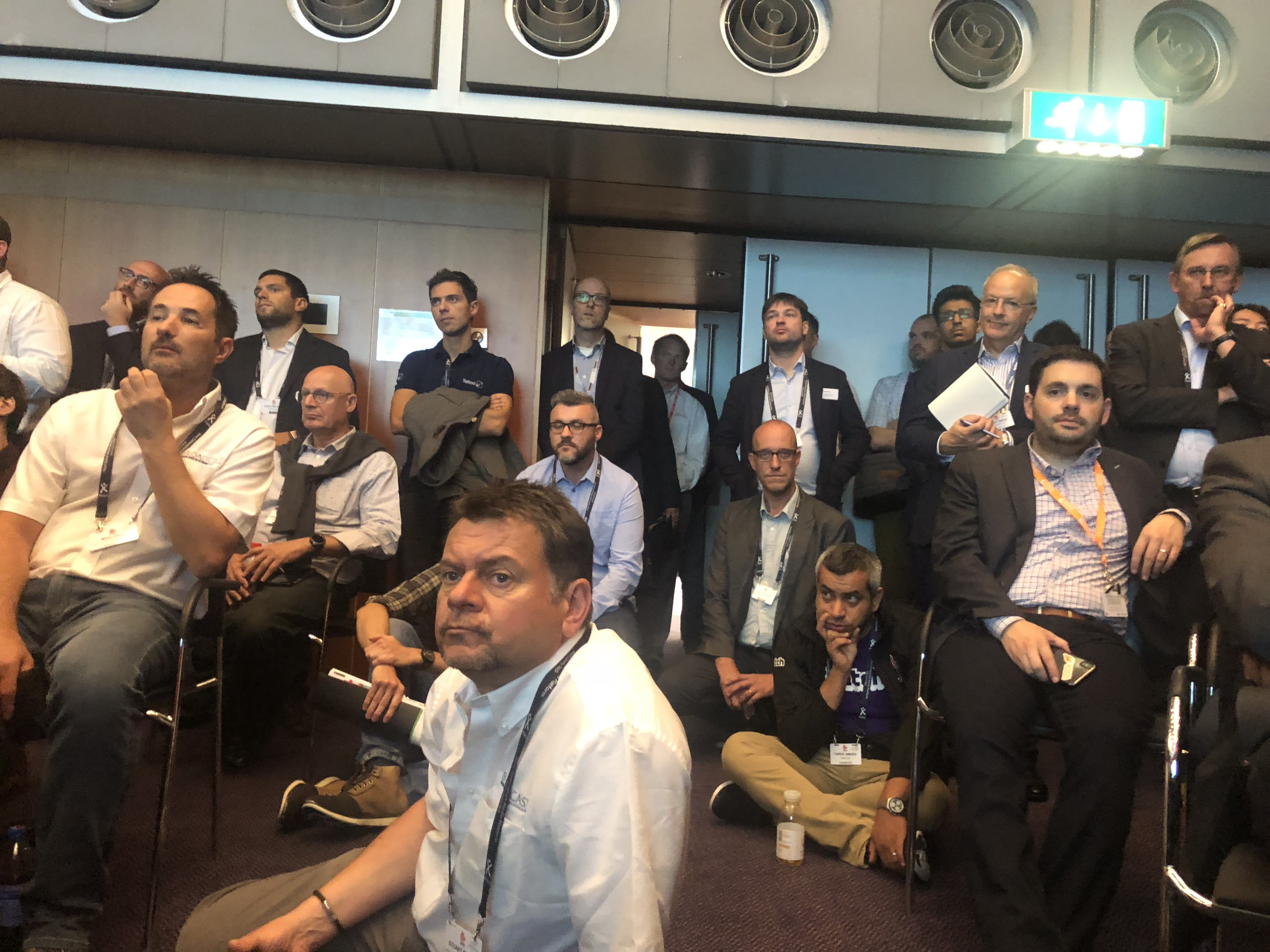 Standing Room Only at the SRT Technical Panel IBC 2018