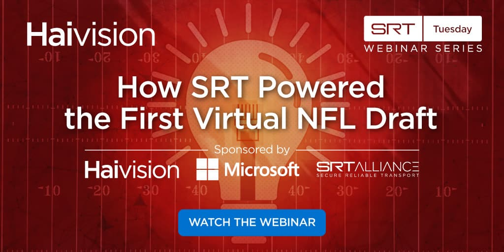 SRT Tuesday NFL Draft Webinar