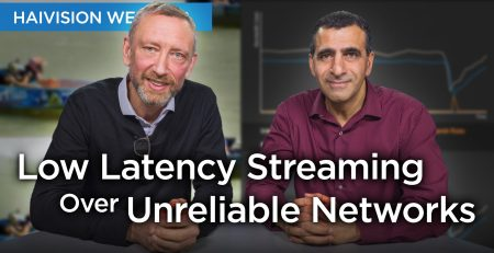 Low latency Streaming over Unreliable Networks