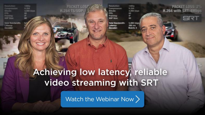 SRT webinar