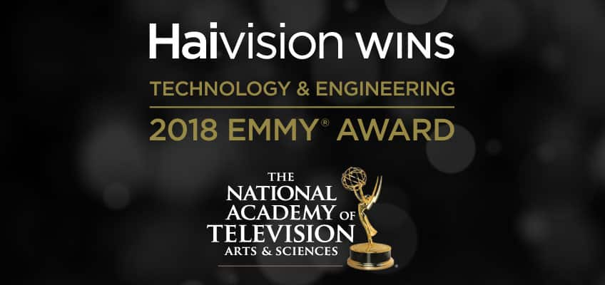 And the Emmy Goes to... Haivision!