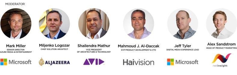 NAB SRT Azure Panelists