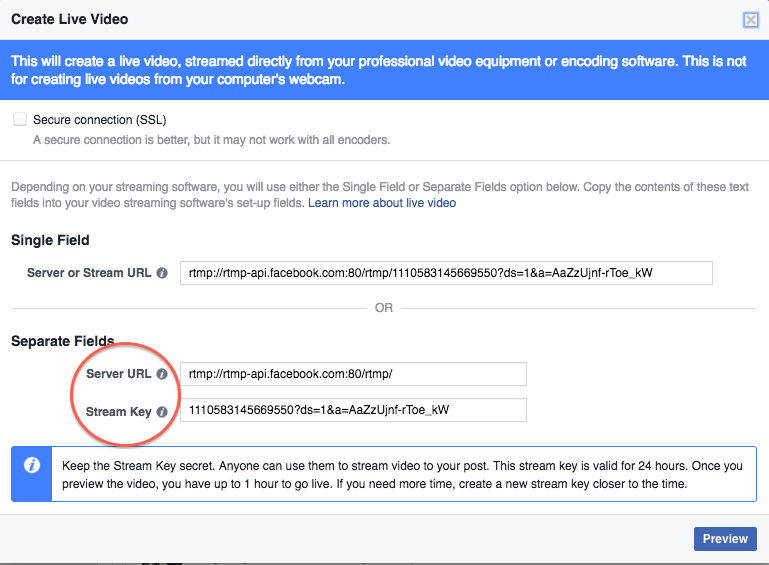 How to Set Up Professional Facebook Live Stream with KB
